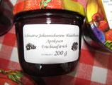 Schwarze Johannisbeere-Heidelbeere & Aprikose 200g--F66