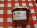 Erdbeere-Mango-Limetten Fruchtaufstrich 200g --F252 Erfrischender Geschmack.