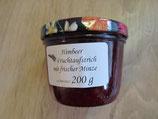 Himbeeren-frische Minze Fruchtaufstrich 200g --F180
