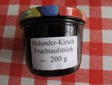 Holunder-Kirschen Fruchtaufstrich 200g  --F187