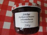 Aprikose-Johannisbeere --stückig--Fruchtaufstrich 200g