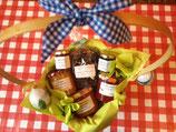 Korb klein mit Marmelade--- Korb 4
