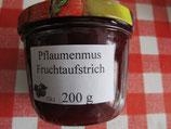 Pflaumenmus fein 200g --  Im Backofen hergestellt mit Braunen Zucker und Gewürzen)  F60