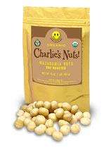 1 Pound Charlie's LIghtly Roasted Mac Nuts