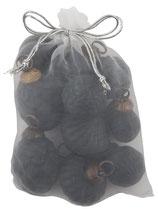 IB Laursen 10 mini Weihnachtskugeln im Netz black