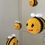 Häkelanleitung Bienen