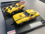 """27615 Carrera Evolution 20027615 Chevrolet Corvette Sting Ray """" No. 35 """" NEU OVP"""