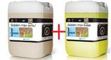 Dippmittel Golden MIX 2 x 10 Kg mit Dippbecher und Dosierpumpen