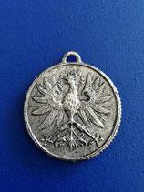 Münze mit Österreichischem Adler und  zum Basteln 3,7cm