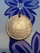 Charivari Anhänger Hamburger Reichsmünze