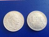 2 Reichsmünzen zum Basteln 3,7cm