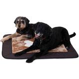 Knuffelwuff Universal Hundematte Fim Braun/Beige