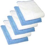 6er-Pack Microfasertücher