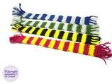 Marques pages au choix écharpes des écoles de sorciers Harry Potter en coton au crochet