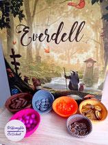 Everdell Set de bols en coton pour jetons