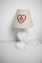 Tischlampe Herz