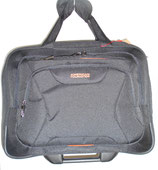 American Tourister Businesswheeler At Work schwarz/orange
