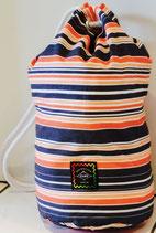 """striped pattern"" Seabag small"