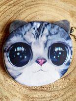 Porte-monnaie enfant - chat gris #2