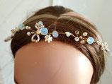 Bijoux couronne mariage Aurore