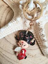 Bijoux de sac porte clé chinoise rouge