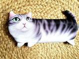 Trousse enfant chat gris