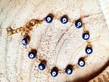 Bracelet fillette fantaisie oeil- bleu marine