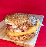 Pain burger sans gluten