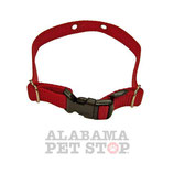 "Pet Stop Replacement Nylon Collar Straps - 3/4"" Wide"