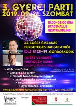 3. Gyere! parti DJ Mohával