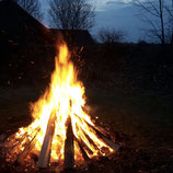 Osterfeuer - Eine Zeremonie für das Leben
