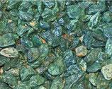 Piedra de marmol verde, Río lena
