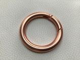 Ring-Schnappverschluss kupfer 40 mm