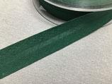 Baumwoll-Schrägband 40/20 mm tannengrün