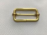 Leiterschnalle gold 40 mm