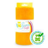 Kullaloo Plüschstoff Shorty uni 1,5 mm orange