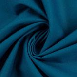 Heide Baumwolle uni türkisblau