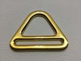 D-Ring mit Steg gold 40 mm