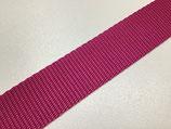 Polyester-Gurtband 30 mm pink