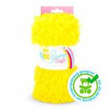 Kullaloo Plüschstoff Shaggy 20 mm gelb