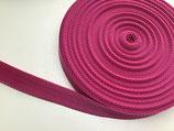 Gurtband 25 mm **Sonderfarbe** pink