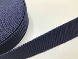 Gurtband 25 mm marine