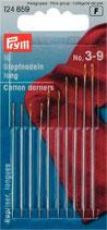 Prym Stopfnadeln silberfarbig/goldfarbig ST 3-9, lang
