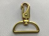 Taschenkarabiner gold 40 mm