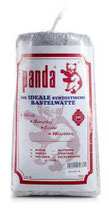 Panda Füllwatte 1 kg bunt (grau)