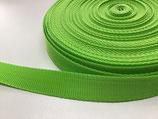Gurtband 25 mm **Sonderfarbe** grün