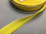 Baumwoll-Schrägband 40/20 mm Col. 645 gelb
