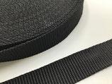 Gurtband 25 mm schwarz