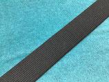Einziehgummi 30 mm schwarz
