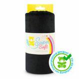 Kullaloo Plüschstoff Shorty uni 1,5 mm schwarz